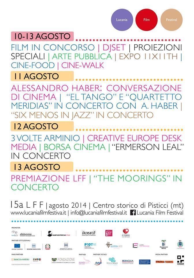 programma short lucania film festival 15a edizione 2014