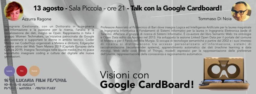 google cardboard 16a edizione lucania film festival 2015