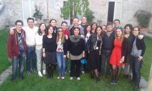 Silvia Scola e gli allievi
